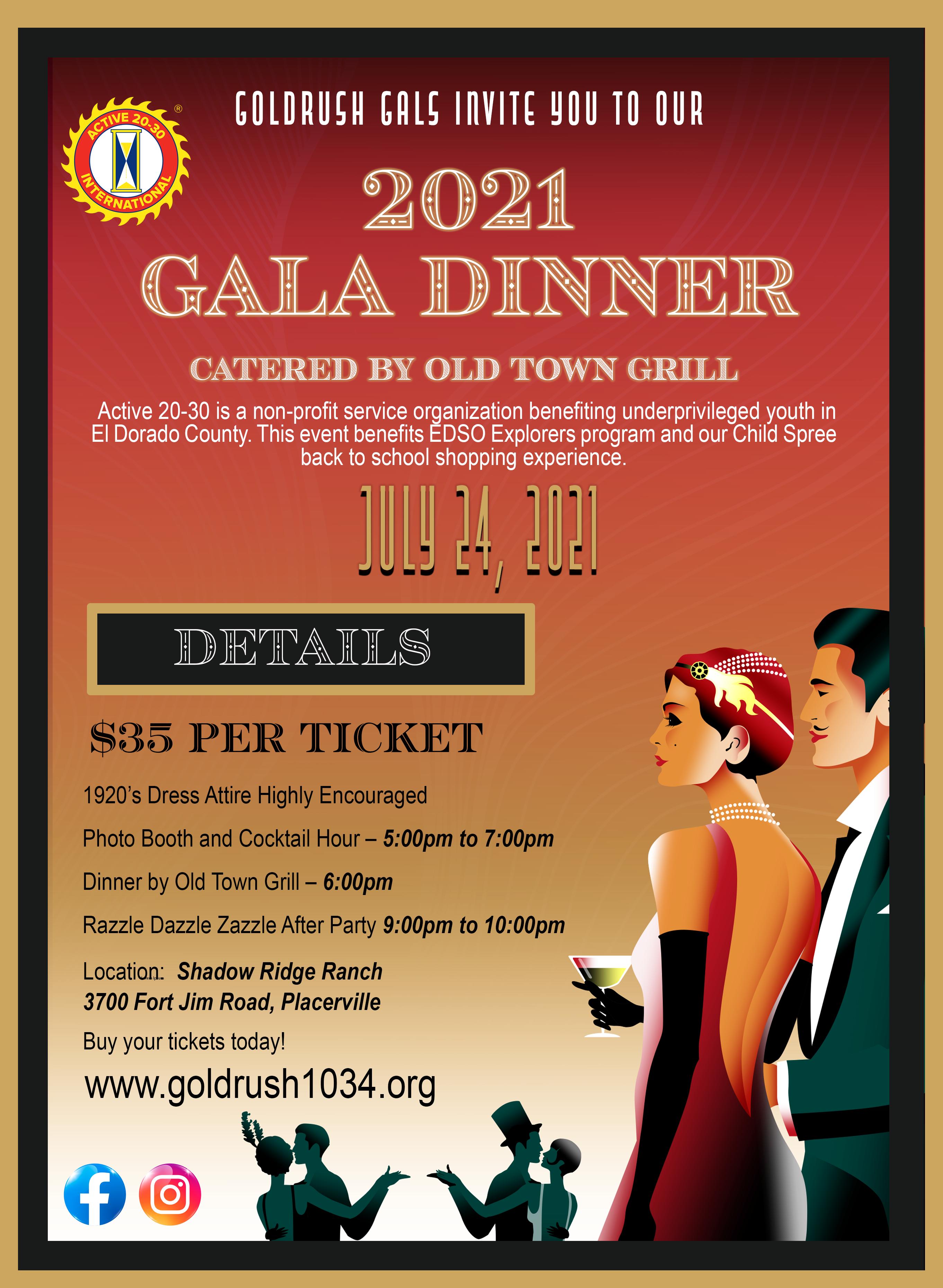 2021 Gala Dinner Invite 2